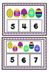 Easter Egg Counting Mats Numbers 1-20