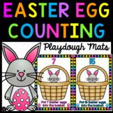Easter Egg Counting Playdough Mats