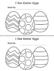 Easter Egg Counting Printable Emergent Reader Book for You