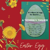 Easter Egg Craft with Writing Prompt