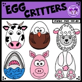 Egg Critters Clipart
