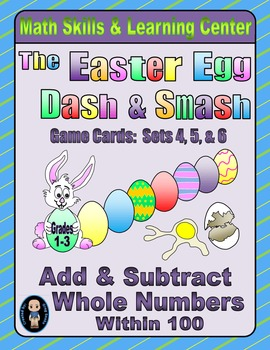 Easter Egg Dash & Smash Game Cards (Add & Subtract Within