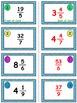 Easter Egg Dash & Smash Game Cards (Improper Fractions & Mixed #'s) Sets 4-5-6