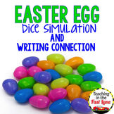 Easter Writing Activity Dice Simulation