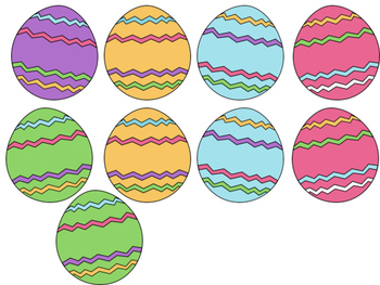 Easter Egg Direction Following Activity