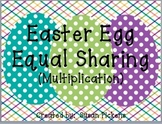 Easter Egg Equal Sharing (Multiplication)
