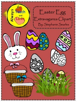 Easter Egg Extravaganza Clipart
