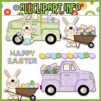 Easter Egg Farm Clip Art - Cheryl Seslar Clip Art