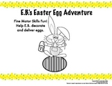 Easter Egg Fine Motor Skills Adventure - Tracing, patterns, writing