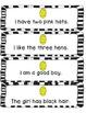Easter Egg Fluency Strips