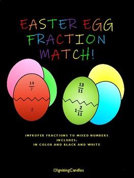 Easter Egg Fraction Match!