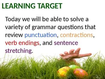 Easter Egg Grammar Hunt