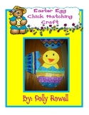 Easter Egg Hatching Chick Craft