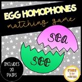 Easter Egg Homophone Match 20 sets