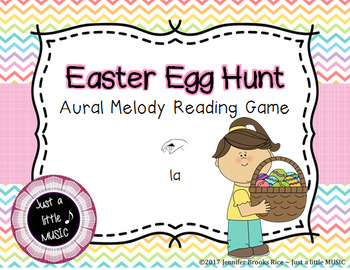 Easter Egg Hung -- An Aural Melody Recognition Game {la}