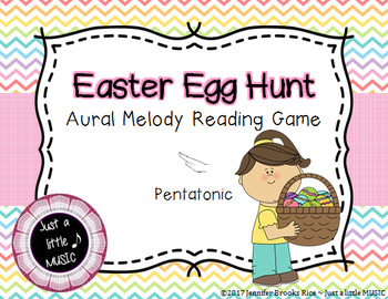 Easter Egg Hung -- An Aural Melody Recognition Game {re pentatonic}