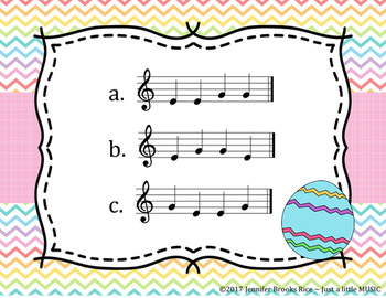 Easter Egg Hung -- An Aural Melody Recognition Game {sol mi}