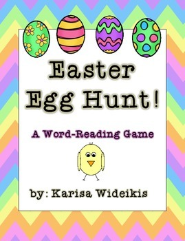 Easter Egg Hunt! A Word-Reading Game