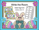 Easter Egg Hunt Activity: Addition within 10