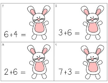 Easter Egg Hunt Addition and Subtraction Games