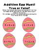 Spring Egg Hunt Addition Subtraction NO PREP Printables