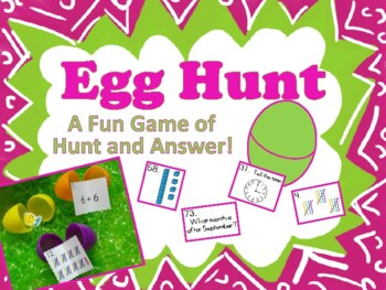 Easter Egg Hunt & Answer - A Math Activity