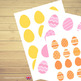 Easter Egg Hunt Color and Number Match⎜Color and Number Match Game