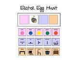 Easter Egg Hunt Communication Board