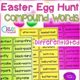 Easter Egg Hunt: Compound Words Differentiated!