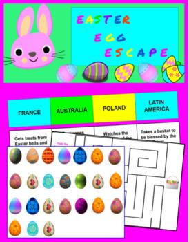 Easter Egg Hunt Digital Breakout