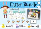 Easter Bundle ( Easter Math, Easter Worksheets ) Addition,