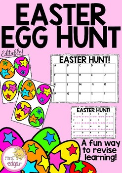 Easter Egg Hunt | Editable