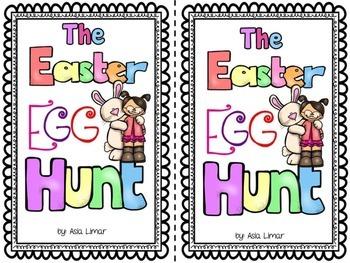 Easter Egg Hunt Emergent Reader Literacy & Math Centers