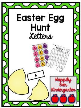 Easter Egg Hunt - Find the Letter
