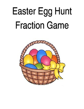 Easter Egg Hunt Fraction Game