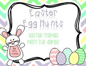 Easter Egg Hunt Freebie