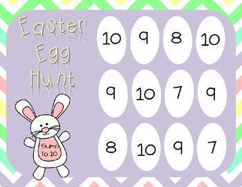 Easter Egg Hunt Freebie