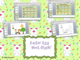 Easter Egg Hunt Glyph (includes color, b&w, and differentiation)