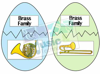 Easter Egg Hunt- Instrument Family Review