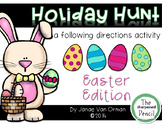 Easter Egg Hunt ~ Listening and Following Directions {Spring}