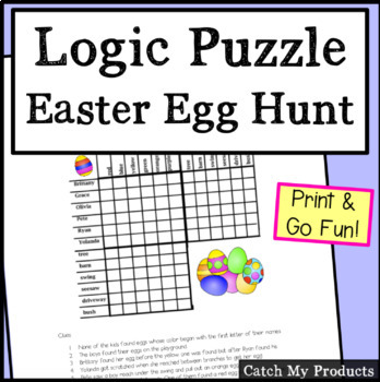Holiday Lesson Plans : Easter Logic Puzzle