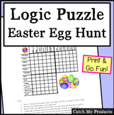 Easter Logic Puzzle for 4th Grade