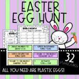 Easter Egg Hunt Math Review
