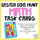 Easter Egg Hunt Math Task Cards