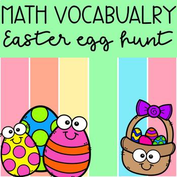 Easter Egg Hunt - Math Vocabulary