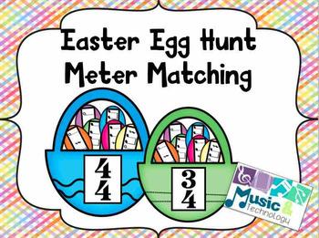 Easter Egg Hunt- Meter Matching