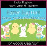 Easter Egg Hunt: Nouns, Verbs & Adjectives (Great for Goog