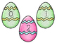 Easter Egg Hunt Number Pocket Chart Game
