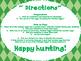 Easter Egg Hunt Number Pocket Chart Game