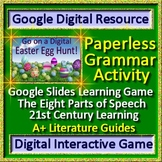 Google Classroom Easter Egg Hunt Paperless Activities Grammar